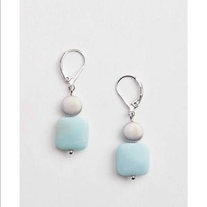 J.jill sea breeze Amazonite  drop earring